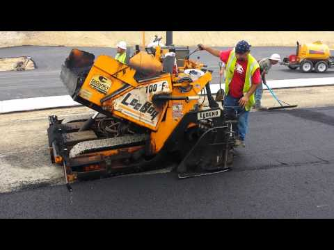 The small paver in action