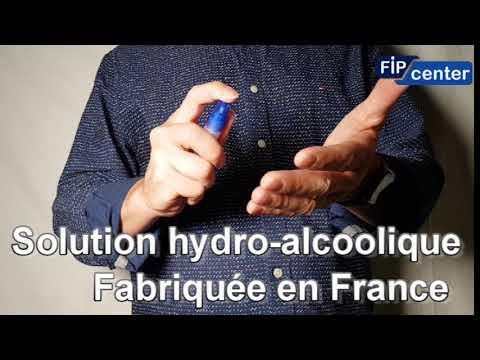 FIPCENTER VAPORISATEUR SOLUTION HYDRO ALCOOLIQUE POUR DESINFECTER LES MAINS