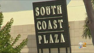 Costa Mesa Shopping Center Opens For Curbside Pickup