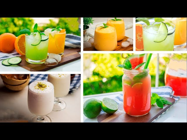 5 Refreshing Summer Drinks
