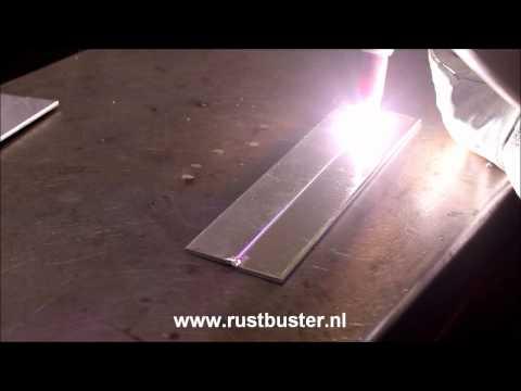 Aluminium TIG lassen (vloeien) (AC GTAW alu melt)