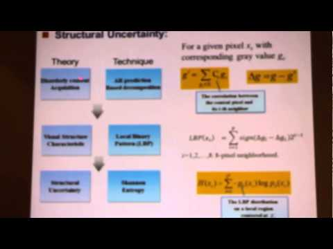 QoMEX2015 - Keynote by Weisi Lin, Nanyang Technological University, Singapore (2of3)