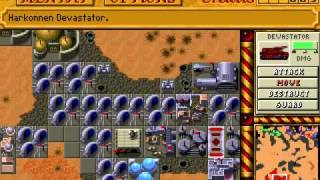 DOS - Dune II: The Building of a Dynasty - Harkonnen gameplay and ending
