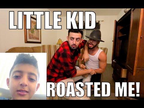 LITTLE KID ROASTED ME SO BAD!!!!