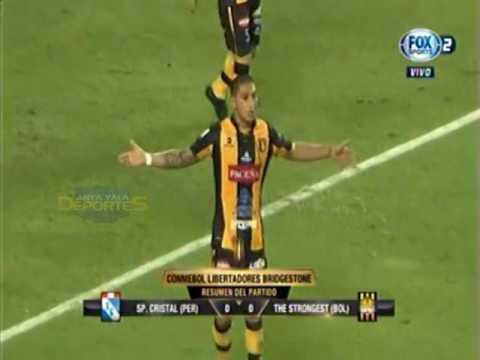 COPA LIBERTADORES - GRUPO 2: SPORTING CRISTAL 0 - 0  THE STRONGEST