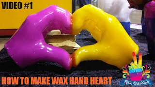 AMAZING How To Make Wax Hands Heart Hand Wax Making Art Is Unique Art Hands Made From Wax