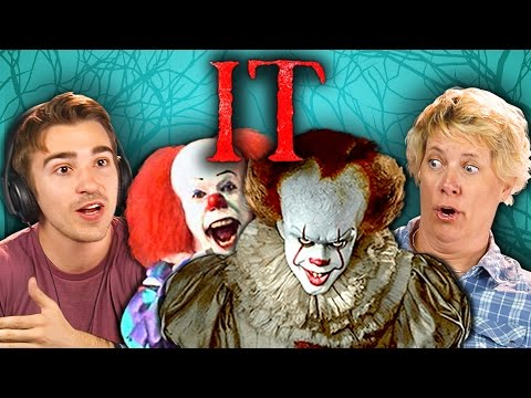 ADULTS REACT TO IT TRAILER