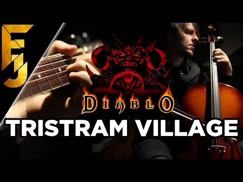 "Diablo - ""Tristram Village"" Acoustic/Metal Guitar Cover 