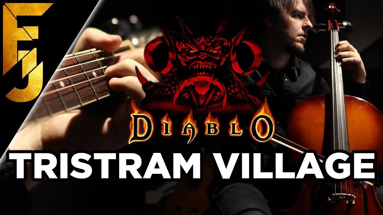 diablo-tristram-village-acoustic-metal-guitar-cover-familyjules-familyjules