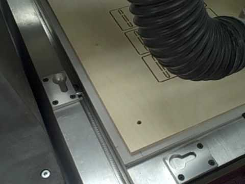 Creating a Two Piece Steel Rule Cutting Die Board Using a Gerber Precision Router.