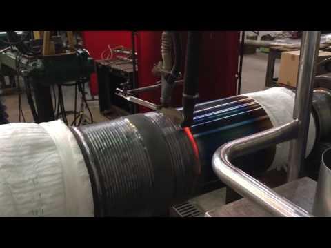 Steam turbine rotor welding