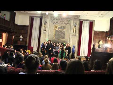 Take Me To Church, Spookie Tupie 2014 - Wellesley College Tupelos