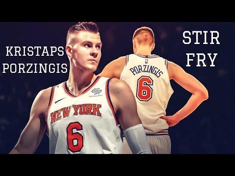 Kristaps Porzingis - Stir Fry (2017-18) | NBA Mix