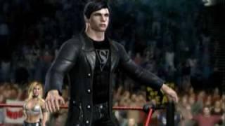 WWE SmackDown VS. Raw 2008 Custom Wrestler Intro: Clark Kent (Smallville season 9 costume)