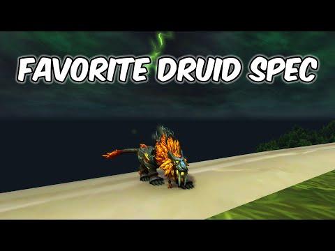 FAVORITE DRUID SPEC - Feral Druid PvP - WoW Shadowlands 9.0.2