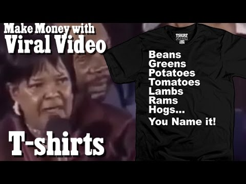 how to make money selling tee shirts