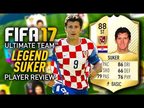 FIFA 17 DAVOR SUKER (88) *LEGEND* PLAYER REVIEW! FIFA 17 ULTIMATE TEAM!