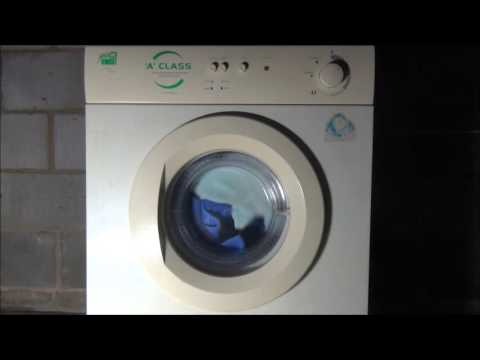 White knight Cl847 A-class Dryer : Cupboard Dry high heat