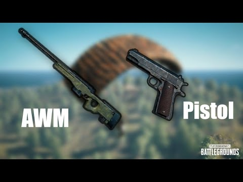 AWM with Pistol!! best combination for Sniper Training| Highlight💣 PUBG Mobile