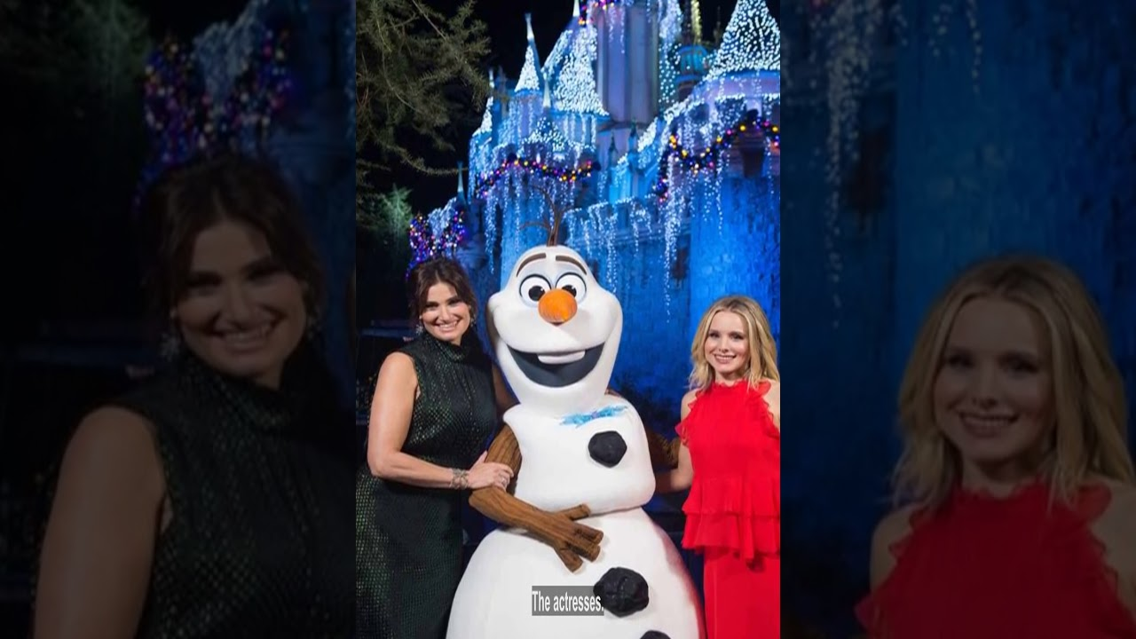 Nick Lachey & Julianne Hough from The Wonderful World of Disney: Magical Holiday Celebration