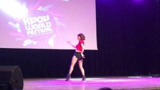 Ayça Bülbül KPop World Festival 2016 Turkey Performans + Söyleşi