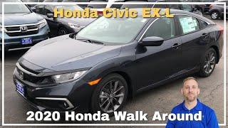 2020 Honda Civic EXL Walk Around