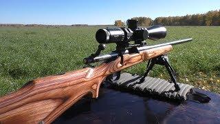 Как стреляет новый Remington 700 VLS дешовыми паторнами?!