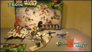 видео: Lego Star Wars 75014 Battle of Hoth Review