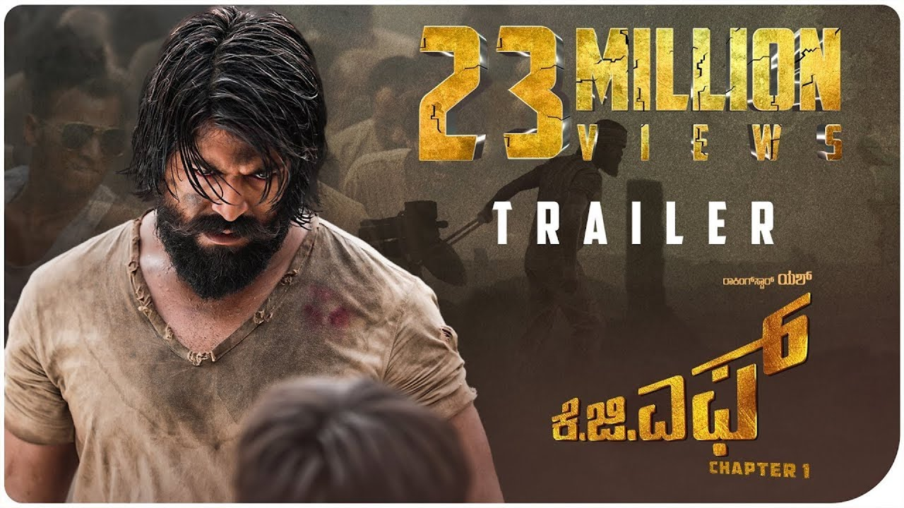 KGF Chapter 1 movie review: Yash's movie about goldmine mafia burns