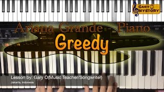 Download Ariana Grande - Greedy Song Cover Easy Piano Tutorial/Keyboard Lesson FREE Sheet Music NEW 2016 MP3 song and Music Video