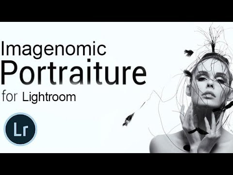 how to use portraiture in lightroom
