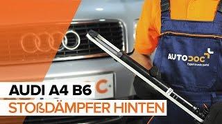Wie AUDI A4 (8E2, B6) Bremsbelagsatz Scheibenbremse austauschen - Video-Tutorial