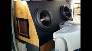 2 Sundown ZV4 15's on 7000 watts RMS Viking Amp