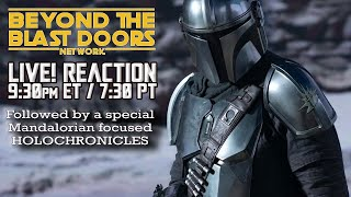 Mandalorian Final Trailer Live Reaction | Special Holochronicles Mando Episode