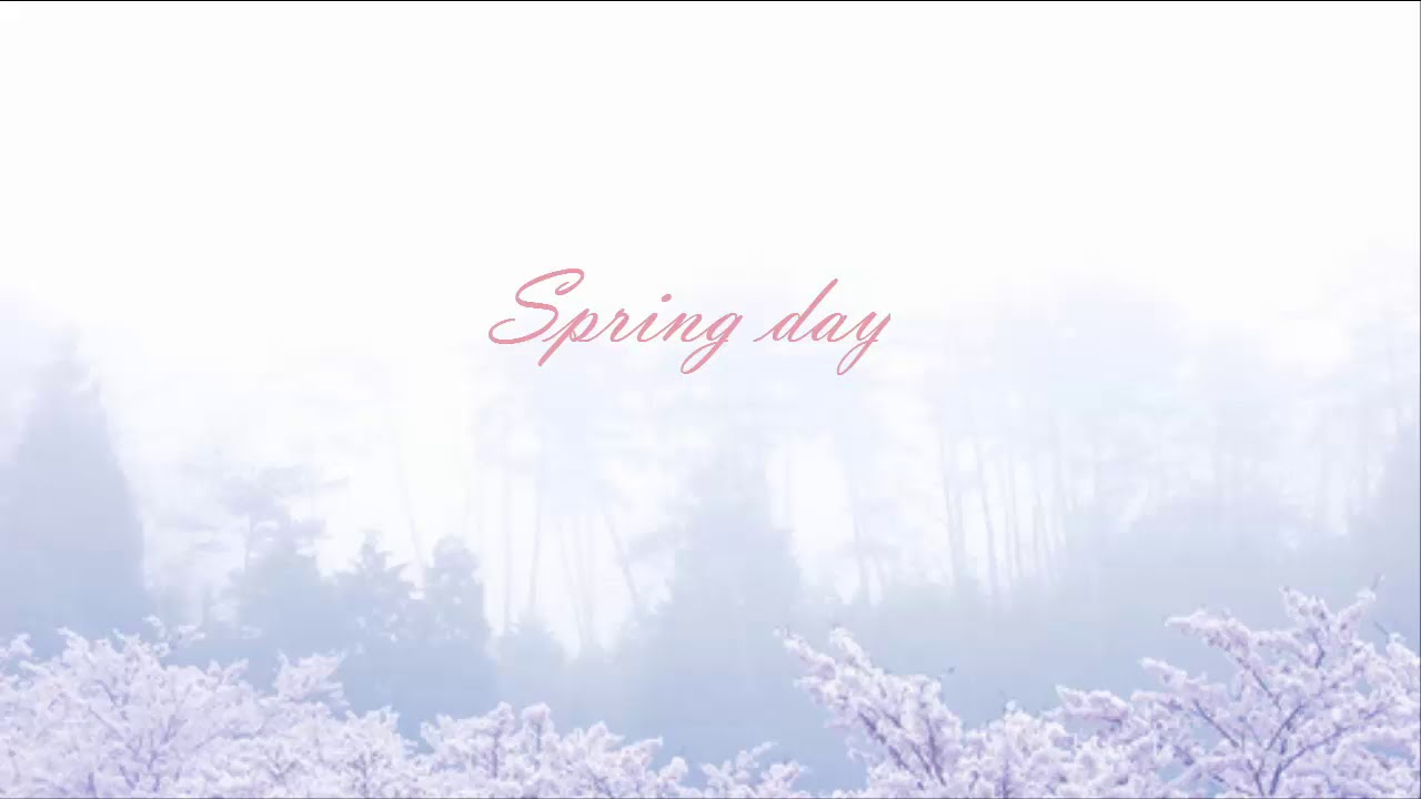 Bts Spring Day Piano One Hour Youtube