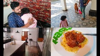 Mahi The Little Helper - Onion Chutney - Spaghetti with Chicken Meatballs Recipe
