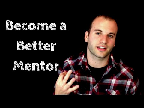 being a good mentor Making a mentorship work it would be helpful to have the opportunity to talk briefly with a potential mentor to see if he or she is a good fit for you.