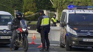 Control policial en Santander tras restringirse la movilidad entre municipios