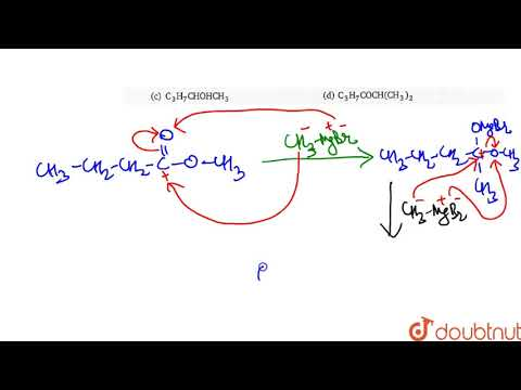 the-principal-product-of-the-reaction-between-methyl-butanoate-and-2-moles-of-`ch_(3)mgbr`