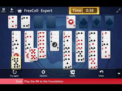 Microsoft Solitaire Collection: FreeCell - Expert - August 1, 2019