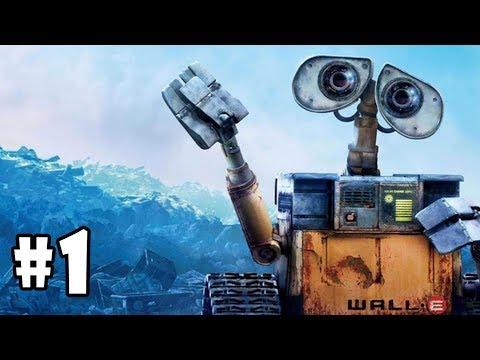 WALL-E - Walkthrough - Part 1 - BnL Tune-Up (PC HD) [1080p60FPS]