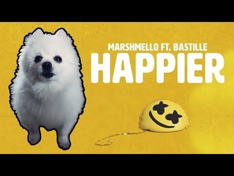 MARSHMELLO ft BASTILLE - &39;HAPPIER&39; em CACHORRÊS