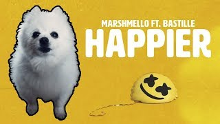 MARSHMELLO ft. BASTILLE  'HAPPIER' em CACHORRÊS