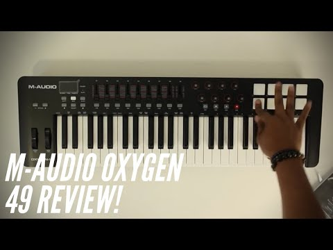 Feel + Functionality! |M-Audio Oxygen 49 MKIV Review!|
