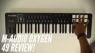 M-Audio Oxygen 49 MKIV Review!(2019)