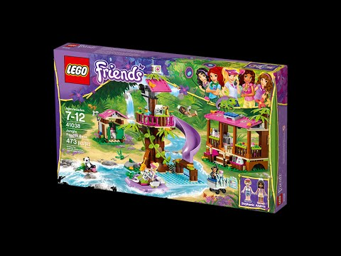 LEGO Friends Jungle Rescue Base [41098] TOY REVIEW