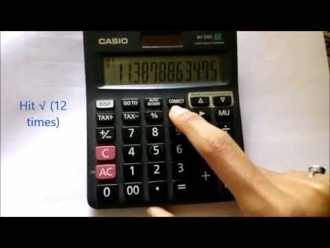 how to find cube root of a number without calculator