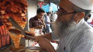 Chacha Ji Ka Chicken Shawarma Roti @ 30 rs ($0.42 ) | Mumbai Street Food Loves You