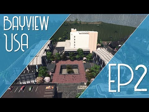 Campus Park | BayView USA EP 2 (Cities: Skylines)