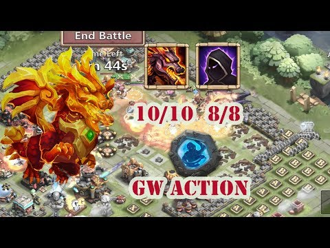 Castle Clash : Feint Lavanica In Guild Wars | Full Dodge | Maxed Out | After Buff Update